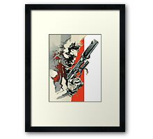Metal Gear Solid 2: Sons of Liberty - Yoji Shinkawa Artbook (Scan) Framed Print