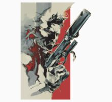 Metal Gear Solid 2: Sons of Liberty - Yoji Shinkawa Artbook (Scan) Baby Tee