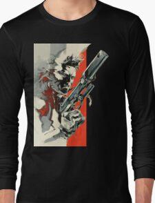 Metal Gear Solid 2: Sons of Liberty - Yoji Shinkawa Artbook (Scan) Long Sleeve T-Shirt