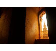 ancient temple, bagan Photographic Print