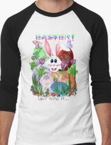 Easter!  Get into it... Men's Baseball ¾ T-Shirt