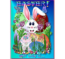 Easter!  Get into it..(blue) Photographic Print