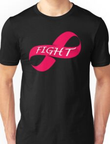 Infinity Fight Breast Cancer Unisex T-Shirt