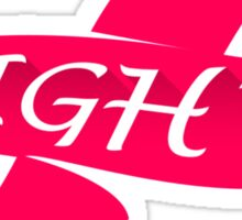 Infinity Fight Breast Cancer Sticker