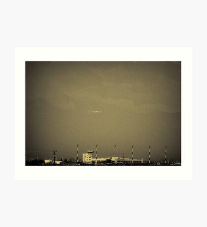 airfield Art Print