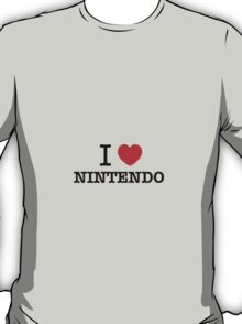 I Love NINTENDO T-Shirt