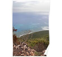 Lover's Leap, Jamaica Poster
