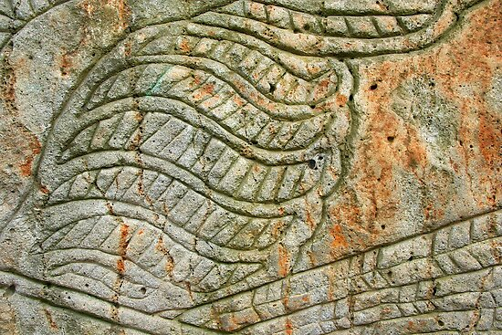 Quot aboriginal rock carving by maggie hegarty redbubble