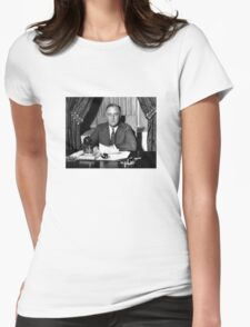President Franklin Roosevelt Womens Fitted T-Shirt