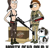 MORTY GEAR SOLID V by JamesCMarshall