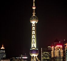 Oriental Pearl TV Tower. by Ian Fraser