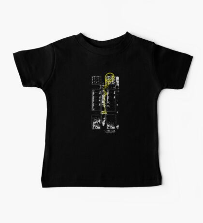 Smile! You're at 221B - yellow, gritty Baby Tee