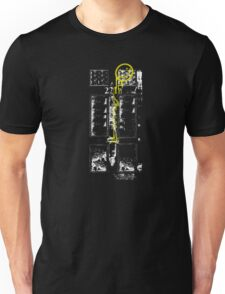 Smile! You're at 221B - yellow, gritty Unisex T-Shirt