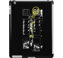 Smile! You're at 221B - yellow, gritty iPad Case/Skin