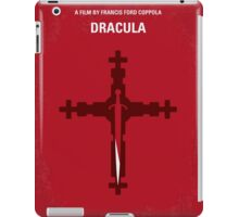 No263 My DRACULA minimal movie poster iPad Case/Skin