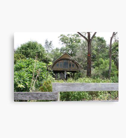 MOGO Modern Cabin in the Bush Canvas Print