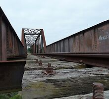 Crookwell Line - Wollondilly River Bridge (1) by DashTravels