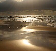 Footprints In The Sand by Noel Elliot