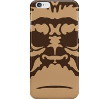 No270 My PLANET OF THE APES minimal movie poster iPhone Case/Skin