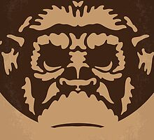 No270 My PLANET OF THE APES minimal movie poster by JinYong
