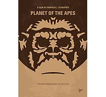 No270 My PLANET OF THE APES minimal movie poster Photographic Print