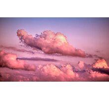 Kissing Cumulus... Photographic Print