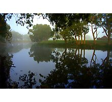 Morning over the Lagoon Photographic Print