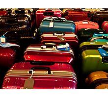 Suitcases Photographic Print