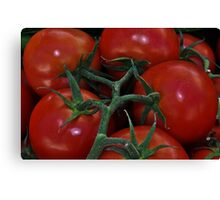 """ Farmers Market "" Canvas Print"