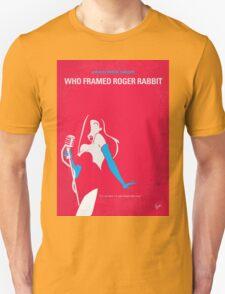 No271 My ROGER RABBIT minimal movie poster Unisex T-Shirt