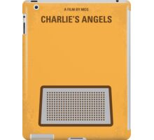 No273 My Charlies Angels minimal movie poster iPad Case/Skin