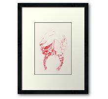 braided Framed Print