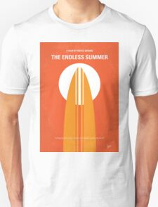 No274 My The Endless Summer minimal movie poster T-Shirt
