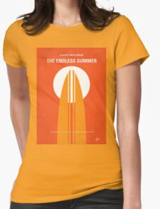 No274 My The Endless Summer minimal movie poster Womens Fitted T-Shirt