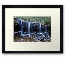Somersby Falls..2-4-11.. Framed Print