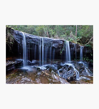 Somersby Falls..2-4-11.. Photographic Print