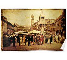 Venice Market 2 1968 Poster