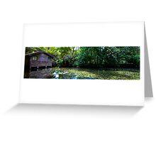 Boathouse, Alfred Nichols Gardens Greeting Card