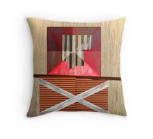 """A System of Compensations"" Throw Pillow"