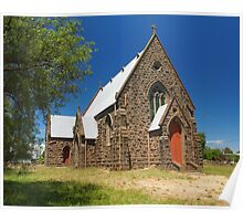 Presbyterian Church - Redesdale, Victoria Poster