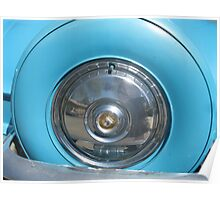 Spare tire compartment with fancy design  Poster
