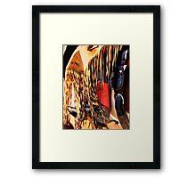 Red High Heels Framed Print