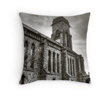 HDR CHURCH BW Throw Pillow
