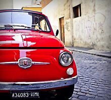 Little Red Fiat by VioletKashi