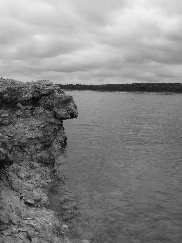 Hanging On - Truman Lake by Rayna Harmon