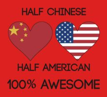 Half Chinese Half American Kids Clothes