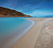 Carlton River Mouth, Dodges Ferry by Chris Cobern
