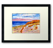 Dune at Dusk Framed Print