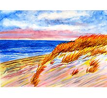 Dune at Dusk Photographic Print