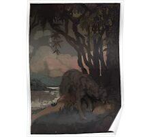 Maurice de Becque Livre de la jungle, p96 Poster